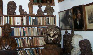 belső kép a Németh Kálmán emlékházból